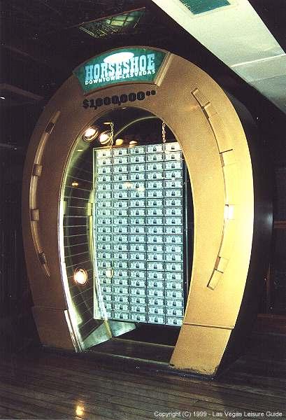 Million Dollar Display Binion S Las Vegas Casinos