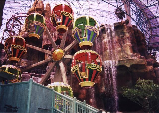 Circus circus roller coaster